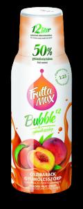 Fruttamax Bubble Őszibarack 500ml
