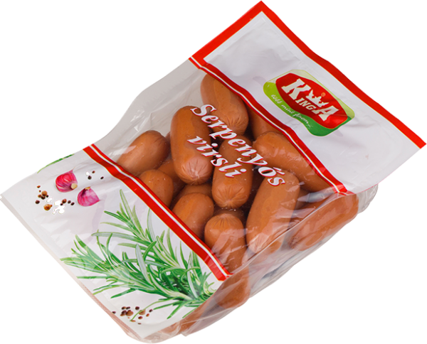 Kinga Serpenyős Virsli 400g