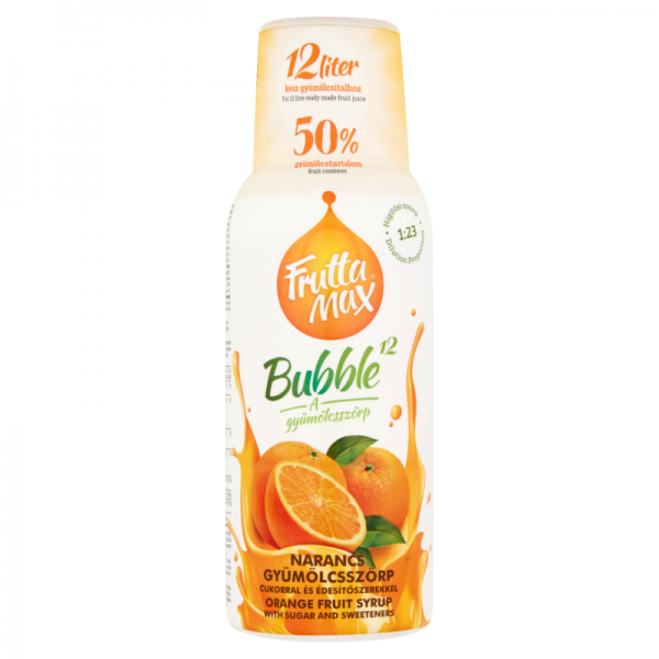 Fruttamax Bubble Narancs 500ml
