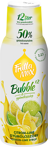 Fruttamax Bubble Citrom 500ml