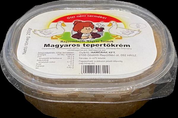 Gizi néni Tepertőkrém  Magyaros 250g
