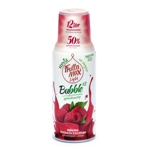 Fruttamax Bubble Light Málna 500ml